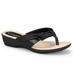 Chinelo Esporão e Fascite - Preto - CAL7413-0003PT - Pé Relax Sapatos Confortáveis