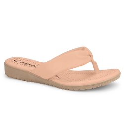 Chinelo Esporão e Fascite - Pele - CAL7741-002PE - Pé Relax Sapatos Confortáveis