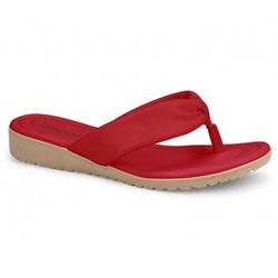 Chinelo Esporão e Fascite - Scarlet - CAL7741-001SCA - Pé Relax Sapatos Confortáveis