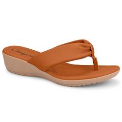 Chinelo Esporão e Fascite - Mascavo - CAL7751-0013MA - Pé Relax Sapatos Confortáveis