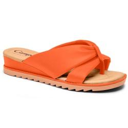 Chinelo Esporão e Fascite - Ocre - CAL8221-0002OC - Pé Relax Sapatos Confortáveis