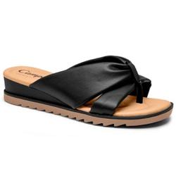 Chinelo Esporão e Fascite - Preto - CAL8221-0005PT - Pé Relax Sapatos Confortáveis