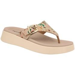 Chinelo para Fascite e Esporão - Floral - PI468004FL - Pé Relax Sapatos Confortáveis