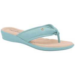 Chinelo para Fascite e Esporão - Azul - PI500284AZ - Pé Relax Sapatos Confortáveis