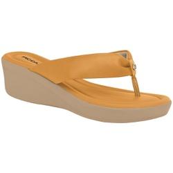 Chinelo Feminino Esporão e Fascite - Amarelo - PI565009AM - Pé Relax Sapatos Confortáveis