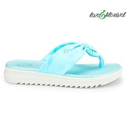 Chinelo Esporão e Fascite Leve e Flexível - Azul - KOC2005-0004AZ - Pé Relax Sapatos Confortáveis