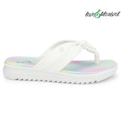 Chinelo Esporão e Fascite Leve e Flexível - Branco - KOC2006-0001BR - Pé Relax Sapatos Confortáveis