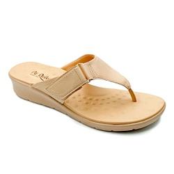Chinelo Feminino para Esporão e Fascite - Bistro - PR10007BI - Pé Relax Sapatos Confortáveis