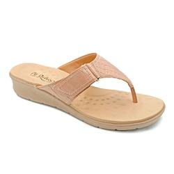 Chinelo Feminino para Esporão e Fascite - New Antique - PR10007NA - Pé Relax Sapatos Confortáveis
