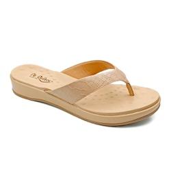 Chinelo Feminino para Fascite e Esporão - Bistro - PR128157FBI - Pé Relax Sapatos Confortáveis