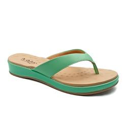 Chinelo Feminino para Fascite e Esporão - Cloro - PR128157FCL - Pé Relax Sapatos Confortáveis