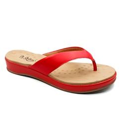 Chinelo Feminino para Fascite e Esporão - Campari - PR128157FCA - Pé Relax Sapatos Confortáveis
