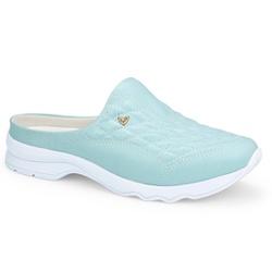 Mule Feminino Confortável - Celeste - MIQ4031-0004CE - Pé Relax Sapatos Confortáveis