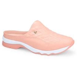 Mule Feminino Confortável - Pêssego - MIQ4031-0005PE - Pé Relax Sapatos Confortáveis