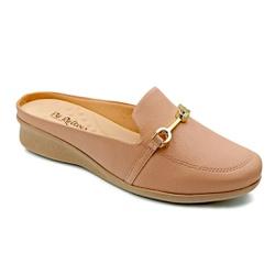 Mule Feminino Social para Esporão e Fascite - New Antique - PR302045NA - Pé Relax Sapatos Confortáveis