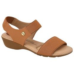 Sandália Feminino para Esporão - Camel - MO7017-476CA - Pé Relax Sapatos Confortáveis