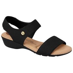 Sandália Feminino para Esporão - Preta - MO7017-476PT - Pé Relax Sapatos Confortáveis