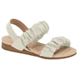 Sandália Confortável para Esporão - Branco - MO7113-239BR - Pé Relax Sapatos Confortáveis