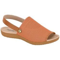 Sandália para Esporão e Fascite - Coral - MO7123-232CO - Pé Relax Sapatos Confortáveis