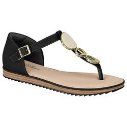 Sandália Confortável Fechada Atrás - Preta - MO7141-116PT - Pé Relax Sapatos Confortáveis