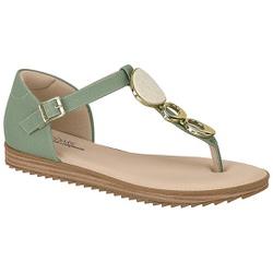 Sandália Confortável Fechada Atrás - Verde Agua - MO7141-116VA - Pé Relax Sapatos Confortáveis