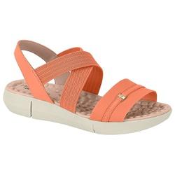 Sandália para Esporão e Fascite Confort - Coral - MO7142-102CO - Pé Relax Sapatos Confortáveis