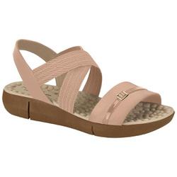 Sandália Anatômica Confort - Bege - MO7142-102BE - Pé Relax Sapatos Confortáveis
