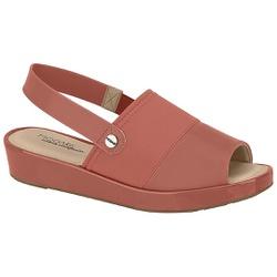 Sandália Feminina para Fascite - Blush - MO7150-101BL - Pé Relax Sapatos Confortáveis