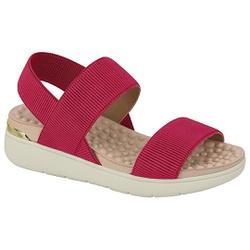 Sandália para Esporão e Fascite - Cereja - MO7151-102CE - Pé Relax Sapatos Confortáveis