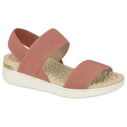 Sandália para Esporão e Fascite - Light Blush - MO7151-102LB - Pé Relax Sapatos Confortáveis
