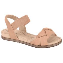 Sandália para Esporão e Fascite - Bege - MO7154-107-BG - Pé Relax Sapatos Confortáveis