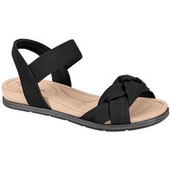 Sandália para Esporão e Fascite - Preto - MO7154-107PT - Pé Relax Sapatos Confortáveis