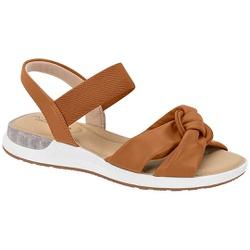 Sandália c/ Amortecedor Gel para Esporão e Fascite - Camel - MO7159-102CA - Pé Relax Sapatos Confortáveis