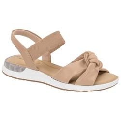 Sandália c/ Amortecedor Gel para Esporão e Fascite - Bege - MO7159-102BG - Pé Relax Sapatos Confortáveis