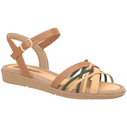 Sandália Feminina para Fascite e Esporão - Cpc / Bege - PI401239CPC - Pé Relax Sapatos Confortáveis