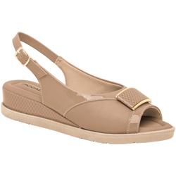 Sandália Esporão e Fascite - Areia - PI458002ARE - Pé Relax Sapatos Confortáveis