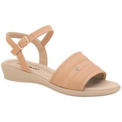 Sandália Esporão e Fascite - Bege - PI500294BG - Pé Relax Sapatos Confortáveis