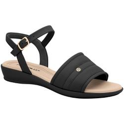 Sandália Esporão e Fascite - Preta - PI500294PT - Pé Relax Sapatos Confortáveis