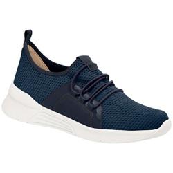 Tênis para Esporão e Fascite - Tec Mlh Tco Nav - PI970037NV - Pé Relax Sapatos Confortáveis