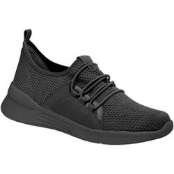 Tênis para Esporão e Fascite - Tec Mlh Tco Preto - PI970037PT - Pé Relax Sapatos Confortáveis