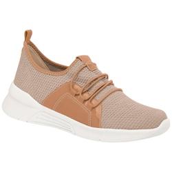 Tênis para Esporão e Fascite - Tec Mlh Tco Creme - PI970037CR - Pé Relax Sapatos Confortáveis
