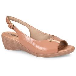 Sandália Confortável - Duna - CAL6628A - Pé Relax Sapatos Confortáveis