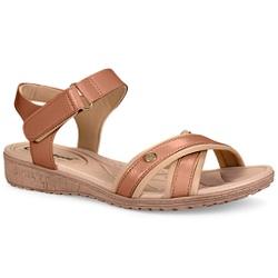 Sandália Conforto - Cacharel Castor - CAL6816CA - Pé Relax Sapatos Confortáveis