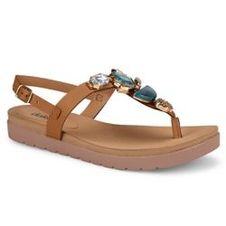 Sandália Esporão e Fascite - Mascavo - DAZ7421MAS - Pé Relax Sapatos Confortáveis
