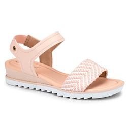 Sandália Confort Feminina - Pink - CAL7471-0001PK - Pé Relax Sapatos Confortáveis