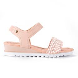 Sandália Confort Feminina - Pink - CAL7471PK - Pé Relax Sapatos Confortáveis