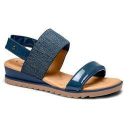 Sandália para Esporão e Fascite - Marinho - CAL8222-0002MA - Pé Relax Sapatos Confortáveis