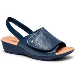 Sandália Esporão e Fascite - Navy - CAL7418-0001NA - Pé Relax Sapatos Confortáveis