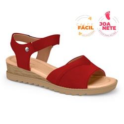Sandália Feminina Especial para Joanete, Esporão e Fascite - Ruby - CAL7722-0004RU - Pé Relax Sapatos Confortáveis