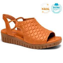 Sandália Esporão e Fascite - Mascavo - CAL8273-0001MA - Pé Relax Sapatos Confortáveis